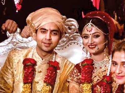 PICS: TV actors attend a wedding in Delhi
