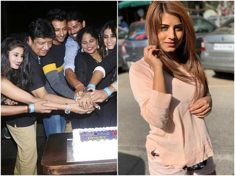 Bhumika Gurung's show Nimki Mukhiya completes 500 episodes; the team celebrates the milestone