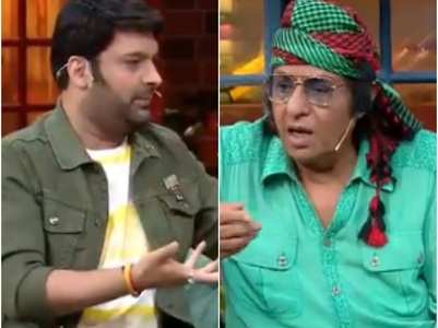 Bollywood villians Ranjeet, Gulshan at TKSS