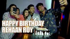 Guddan fame Rehaan Roy celebrates birthday with girlfriend Jasmine and co-stars