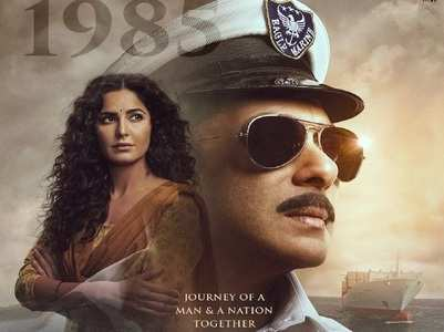 Bharat poster: Salman Khan as a Navy Officer