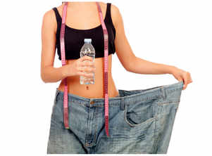 The right way to lose water weight fast!