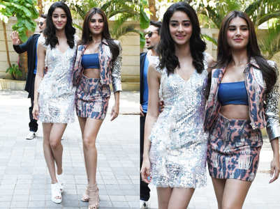 Ananya and Tara prove they are the hottest debutants in Bollywood