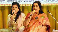 Anuradha Paudwal charms Jaipur with her soulful voice