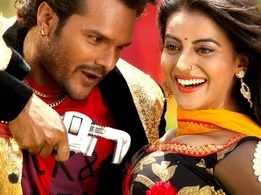 Watch: Khesari Lal Yadav and Akshara Singh's hit Bhojpuri song 'Sakhi Salai Rinch Se Kholela'
