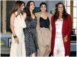 Sonali Bendre spends time with her friends