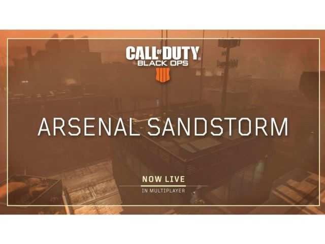 Call of Duty: Black Ops 4 update- New Arsenal Sandstorm map, Infected mode and more