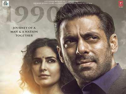 'Bharat' poster: Salman-Katrina look intense