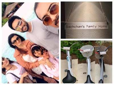 Abhishek's family getaway with Ash-Aaradhya