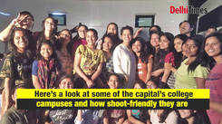 How shoot friendly are Delhi's college campuses?