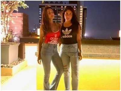 Malaika's summer night out with Kareena