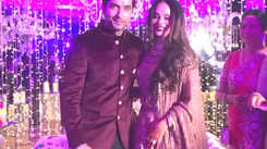 Watch: Ssharad Malhotra and Ripci Bhatia's sangeet ceremony