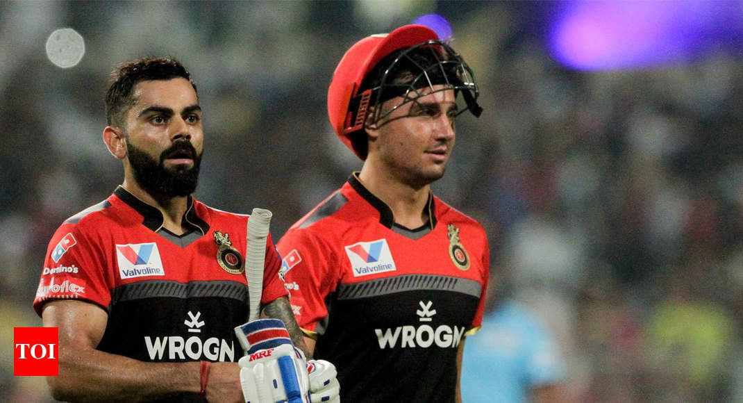 Was important for me to bat through in AB de Villiers' absence: Virat Kohli - Times of India