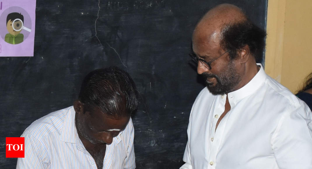 When right was wrong for Rajinikanth - Times of India