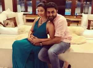 Aish-Abhishek on their wedding anniversary