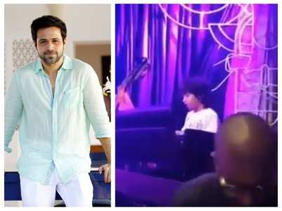 Video: Emraan cheers for his son Ayaan