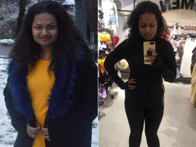 This girl lost a MASSIVE 37 kgs in 7 MONTHS