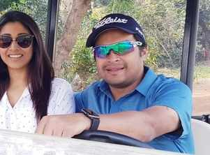 With hubby Arjun in town, Paoli happily juggles work and social life