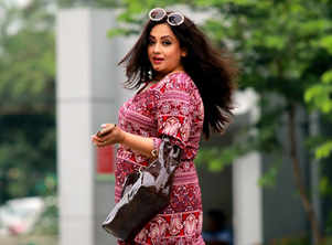 Sreelekha is excited to move into her new abode