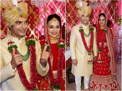 Ssharad Malhotra ties the knot with Ripci Bhatia