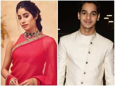 Janhvi and Ishaan make heads turn