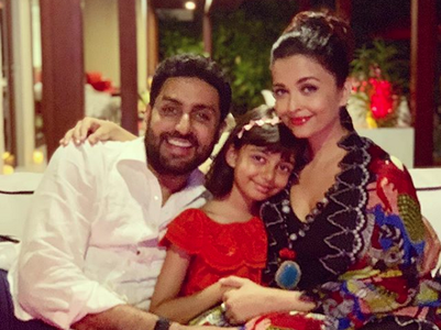 PIC: Ash, Abhishek and Aradhya from vacay