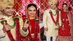 Ssharad Malhotra ties the knot with Ripci Bhatia
