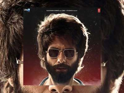 New poster of Shahid's 'Kabir Singh' is out