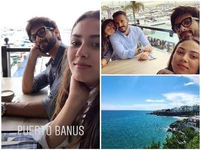 Shahid and Mira's European holiday