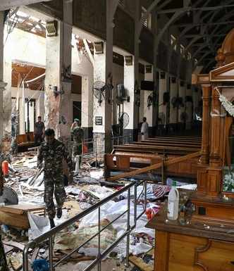 207 people including Kerala woman killed, 450 injured in Sri Lanka blasts; seven arrested