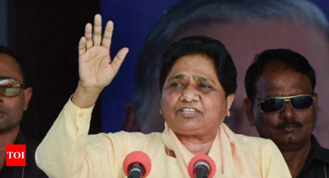 Miffed Mayawati tells SP men to learn the art of listening