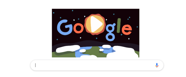 Google celebrates Earth Day with an interactive doodle