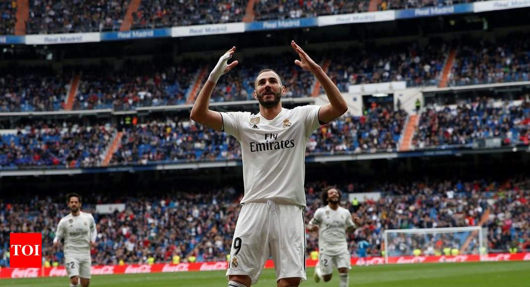 fcb6d547b6bf9 Karim Benzema scores hat-trick in Real Madrid s 3-0 win over Athletic Bilbao