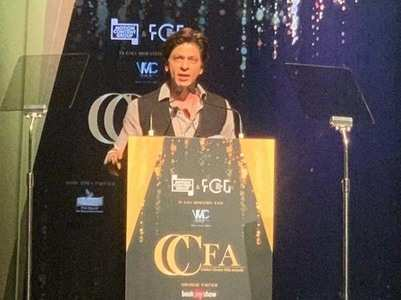 Watch: Shah Rukh's honest and witty speech