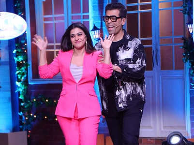 TKSS: BFFs Kajol and Karan Johar reunite