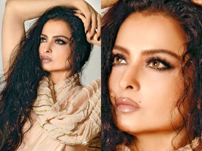 The secret behind Rekha's ageless beauty