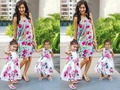 KV's twin girls, wife nail the twinning game