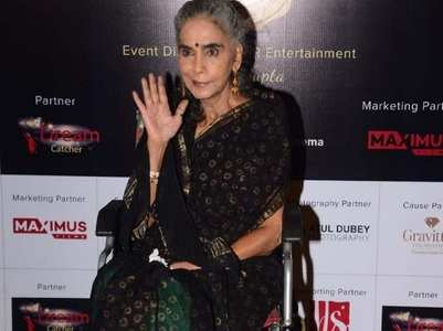 PICS: Surekha Sikri arrives at an event