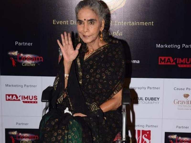 Balika Vadhu's Dadisa aka Surekha Sikri makes a rare appearance at an award  function; see pictures - Times of India