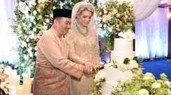 Malaysian prince marries a Swedish beauty queen