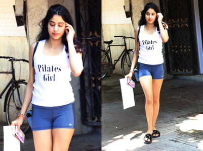 Janhvi Kapoor repeats clothes again and we think it's so relatable