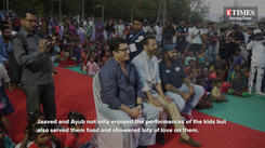 Jaaved Jaaferi and Ayub Khan spend quality time with underprivileged kids at this event
