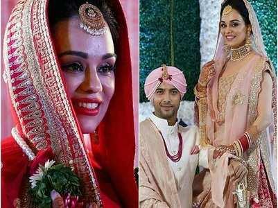 Ssharad's bride gets emotional at her bidaai