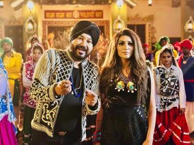 Daler Mehndi styles Sapna for a song