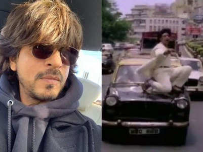 SRK reply to a video of him dancing on a car