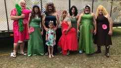 7 men participate in Miss Swamp Bottom Pageant dressed as women