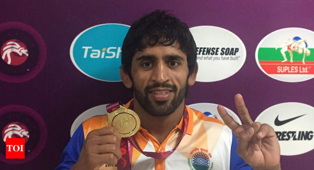 Asian Wrestling Championships: Bajrang Punia claims gold with tough win in final