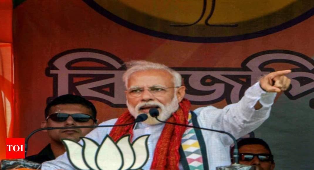 Congress moves EC against Modi 'roadshow' after voting, calls him 'uncaring offender'