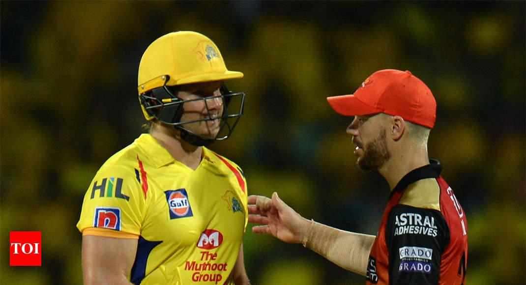 CSK vs SRH, IPL 2019: Shane Watson gets Chennai Super Kings back on winning track