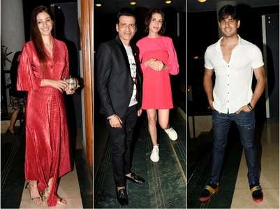Celebs at Manoj Bajpayee's birthday bash